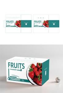 创意水果草莓包装设计