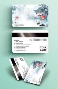 中式复古VIP贵宾卡会员卡