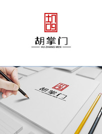 中式红木家具logo设计