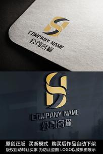 S字母logo标志字母商标设计