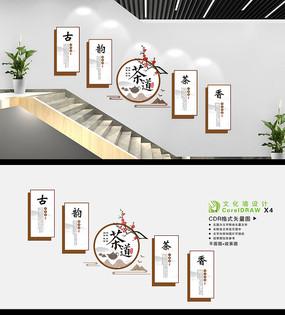 茶道茶艺茶室文化墙
