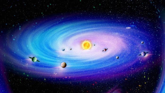 星空背景图设计