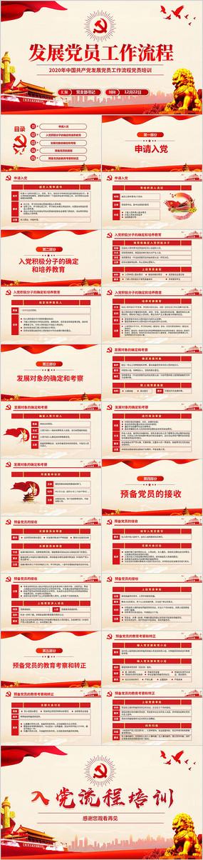 中国共产党发展党员工作流程ppt