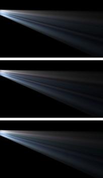 4K通道电影院投影仪投影光线闪动视频素材