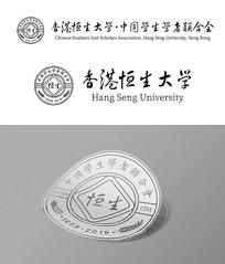 学校单位古典标志徽章设计