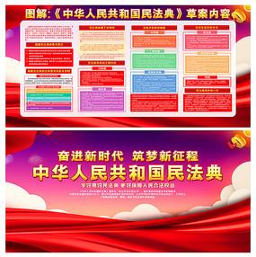 学习解读中华人民共和国民法典宣传栏