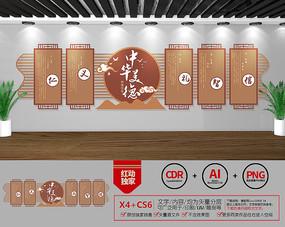 中华美德儒家校园文化墙