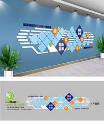 创意企业员工照片墙设计