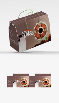 香辣蟹包装盒设计
