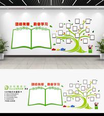校园文化墙教室布置形象墙