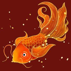 原创浮世绘泡泡金鱼