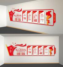 党的十九大党员活动室文化墙