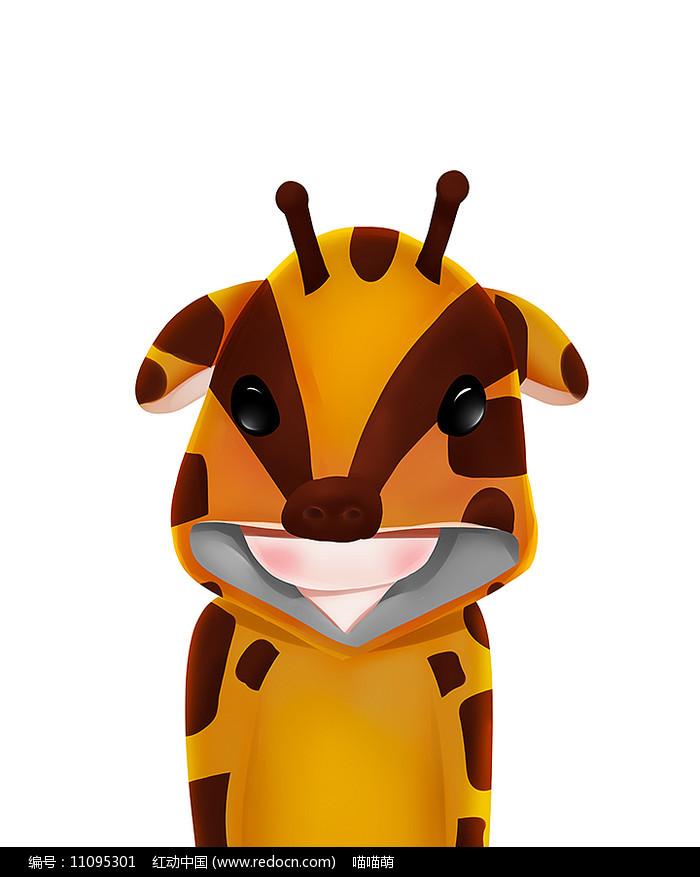 原创可爱卡通动物鹿套装衣服
