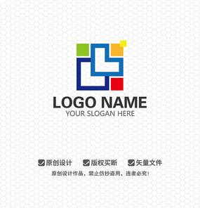 LL字母创意时尚文化LOGO设计