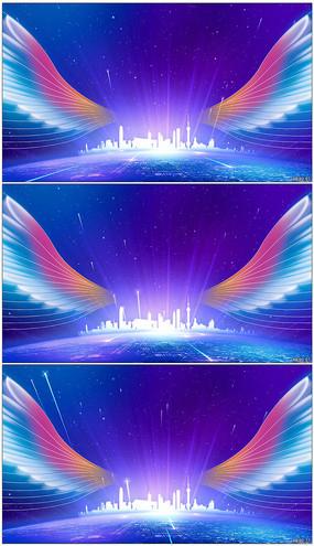 大气震撼企业活动大屏幕背景视频素材