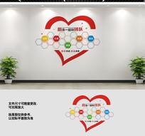 企业员工风采墙照片墙设计