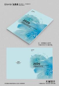 小清新花朵画册封面