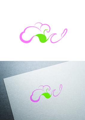 棉花标识logo