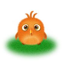 手绘风可爱卡通小鸡动物插画元素