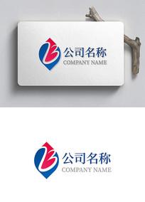 动感字母B企业logo设计