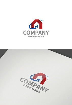 房子建筑logo设计