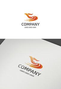 鸽子党建logo设计