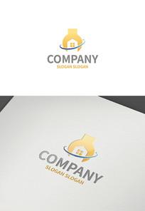 机械建筑logo设计