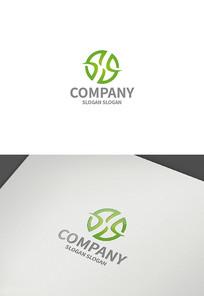圆形字母x外贸logo设计