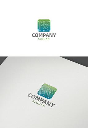 字母nk科技logo