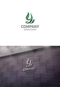 字母y农业logo设计