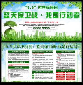 6.5世界环境日内容宣传展板