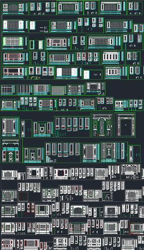 背景墻圖庫CAD