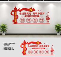 党员之家党建文化标语墙