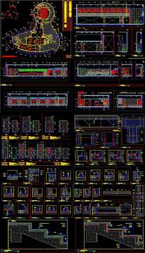 某酒店CAD全套施工图