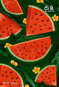 原创水果之西瓜