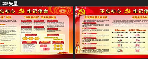 村级党建文化宣传栏