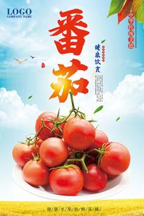 番茄水果海报