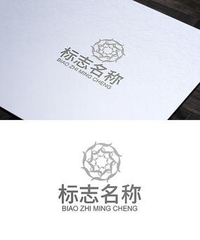 高端花纹logo设计