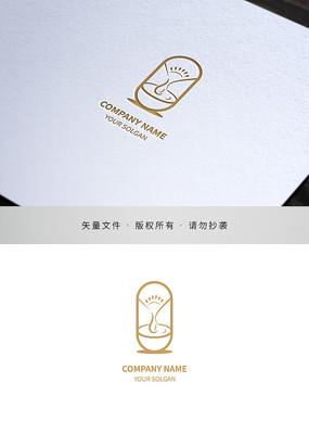 饮品水吧行业标志设计