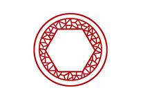 原创手绘中国风剪纸窗棱边框插画