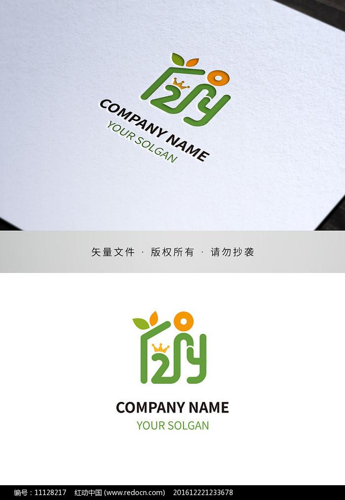 字母2Y幼教培训类标志设计图片