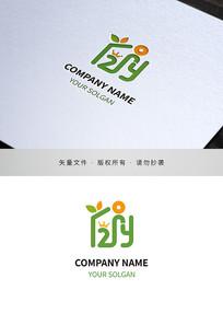 字母2Y幼教培训类标志设计