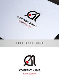 字母Aa文化传播类标志设计