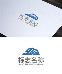 山峰logo设计