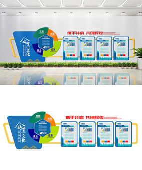 创意企业公司文化墙设计