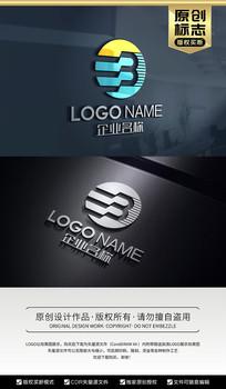 EB字母标志设计