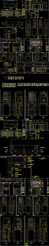 全套麻辣烫店CAD施工图