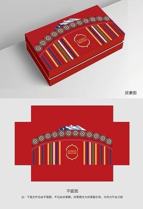 原创红色高级礼盒包装
