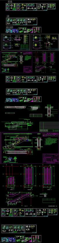 自动扶梯大样CAD图纸