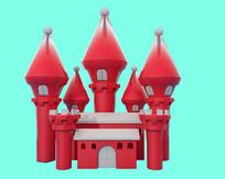 原创城堡模型
